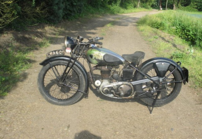 1938 Empire Star 350cc