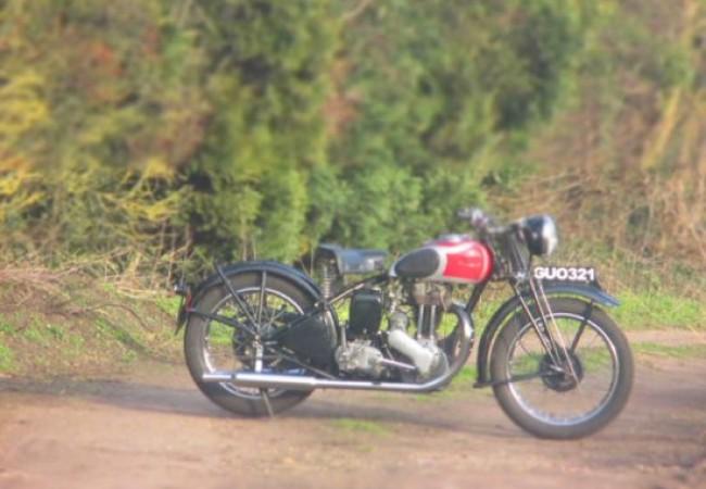 1946 Ariel NG 350CC
