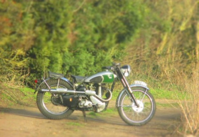BSA B32 1949