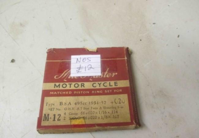BSA 495cc OHV 1951 – 1957 +20 Piston Rings