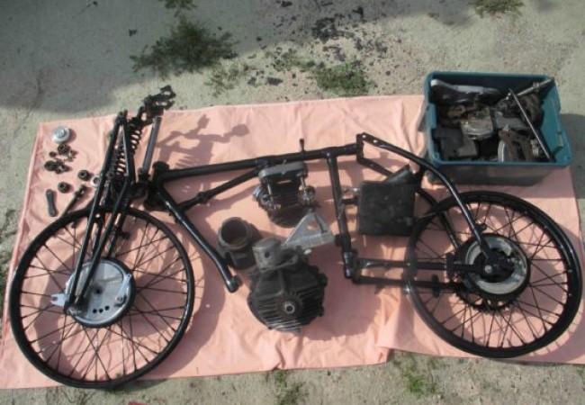 1931 Excelsior A14 TT Replica, Sports/Racing 500cc