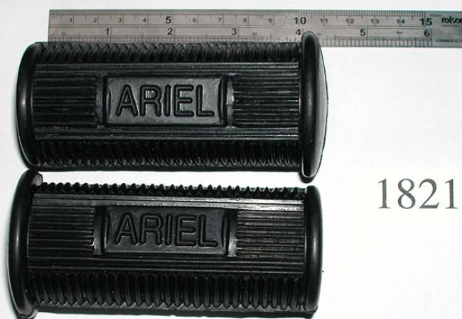 Ariel footrest rubbers