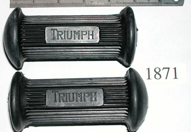 Triumph Rider's Footrest Rubbers