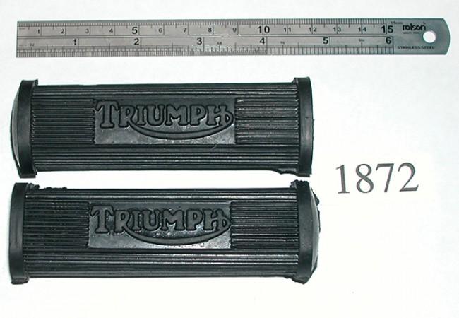 Triumph Pillion Footrest Rubbers